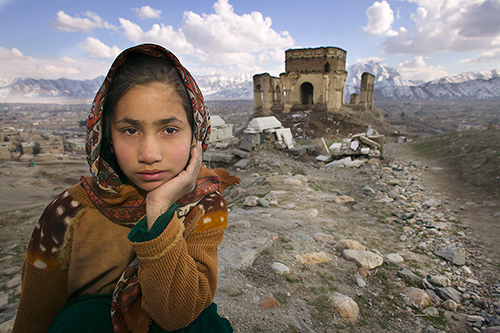 kabul girls. on the streets of Kabul to