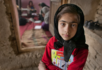 Hadia, Out-of-School Girls Program, Kabul, Afghanistan